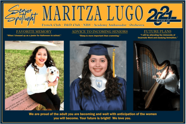 Maritza Lugo senior spotlight