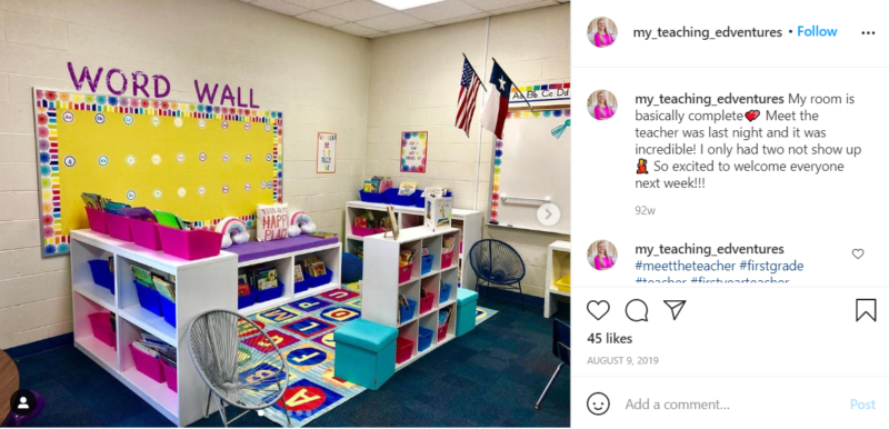 Still of set up your classroom library by finding your flow from Instagram