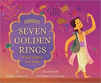 Book cover for Seven Golden Rings