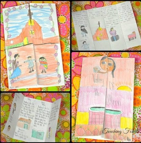Make a shutter book -- 2nd grade reading comprehension