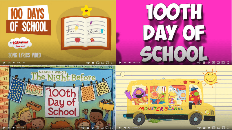 20 Fun 100th Day Videos To Help You Celebrate in the Classroom