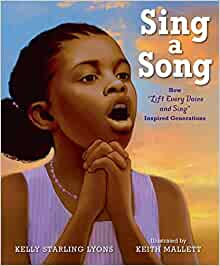 Book cover for Sing a Song as an example of children's music books