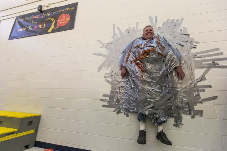best principal stunts duct tape