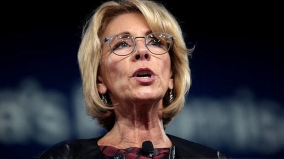 about betsy devos