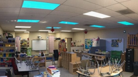 rgb lighting in schools