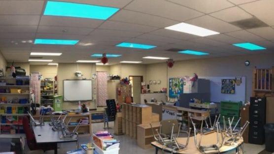 rgb lighting in schools