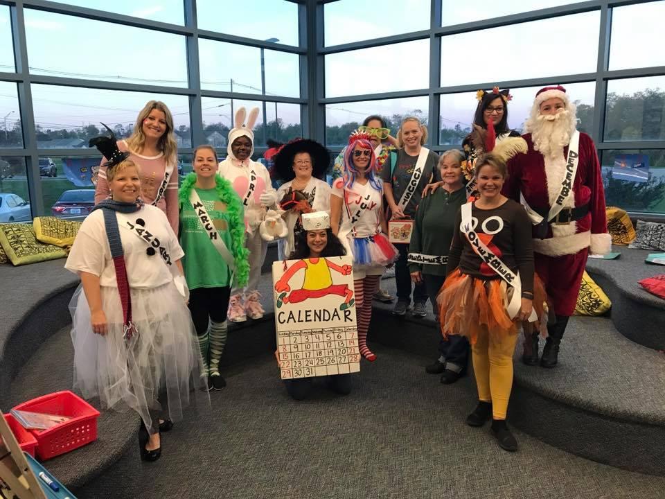 Teachers Halloween Dress-Up