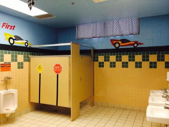 Elementary school bathroom Old At Bonnieville Elementary In Hart County Ky Teachers And Volunteers Are Working Hard To Create Fun And Inspiring For The Students And Staff Beginning School Leaders Now Weareteachers 15 School Bathrooms That Are Truly Game Changers