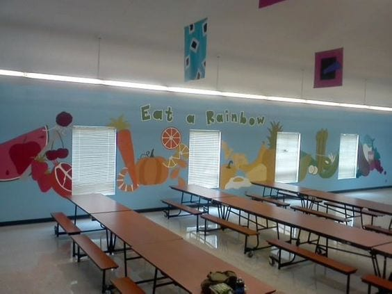 13 School Cafeterias That Are Truly Works Of Art For