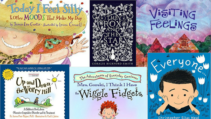 6 Picture Books About Mental Health To Use at Your School