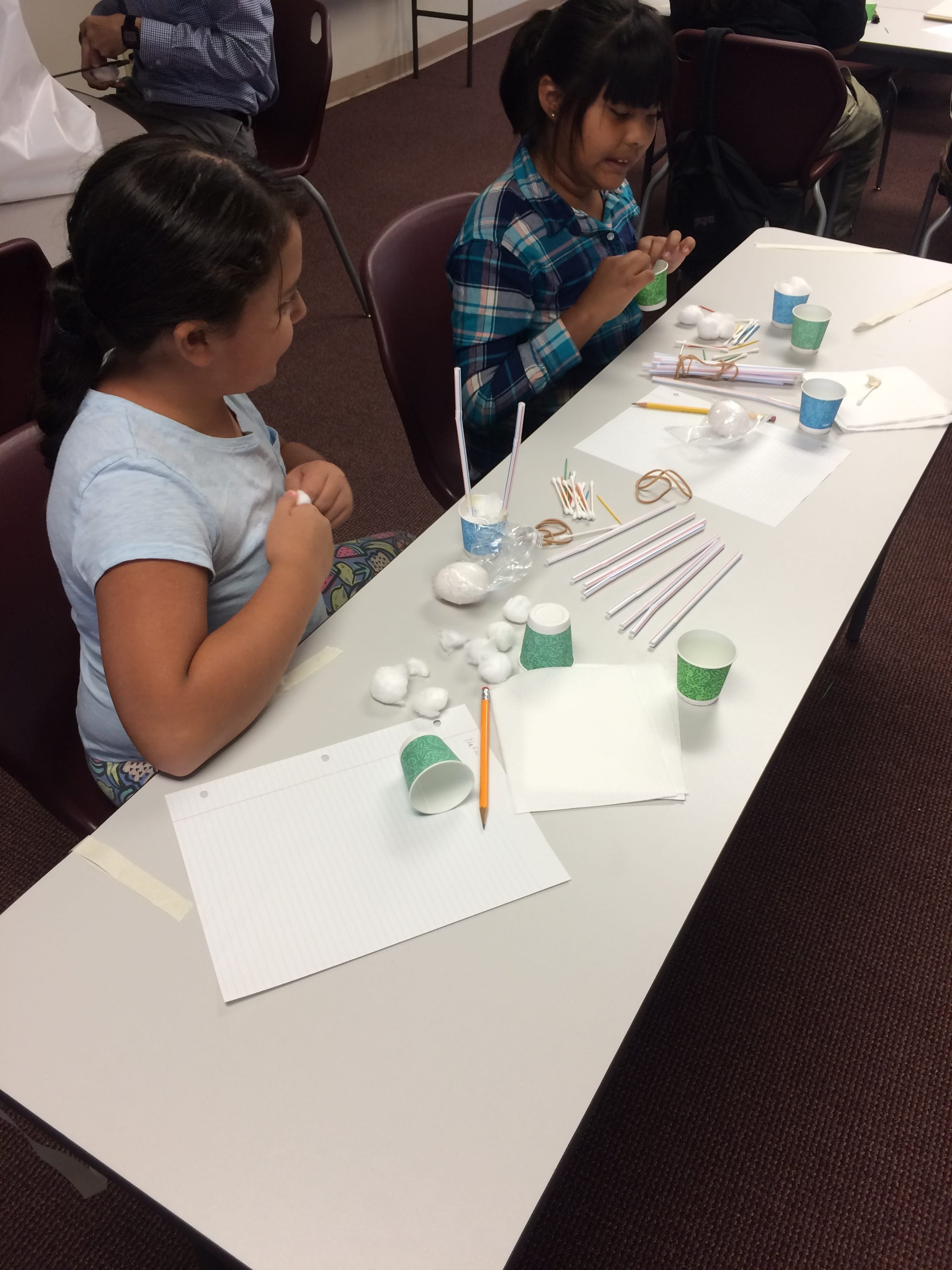 Students at Mojave River Academy in Bakersfield, CA doing STEAM activities —STEAM Careers
