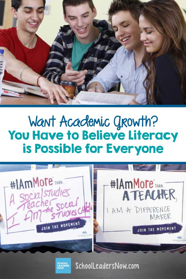 Want Academic Growth? You Have to Believe Literacy Is Possible for Everyone