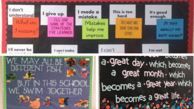 Bulletin Boards for a Positive Front office Culture