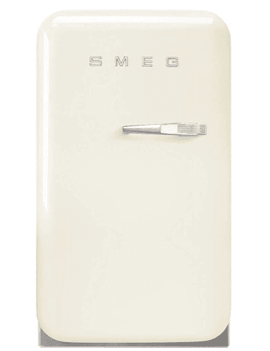 Smeg white retro mini fridge
