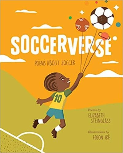 Book cover for Soccerverse: Poems About Soccer