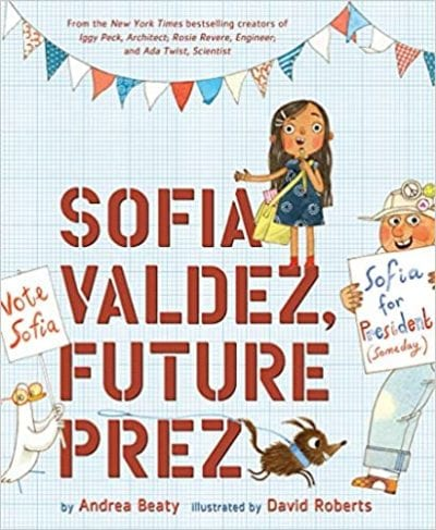 Sofia Valdez Future Prez book cover