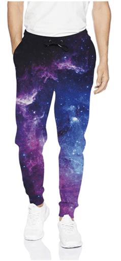 Space jogger pants