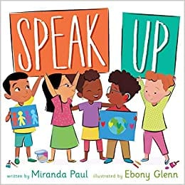 Speak Up book cover example of activism books for the classroom