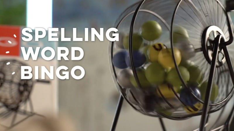 Main Spelling Word Bingo