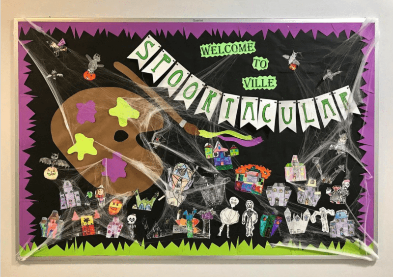 First Grade is Spooktacular