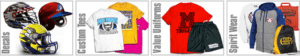 Sports Decal Clothing Preview