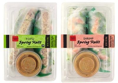 Shrimp or Tofu Spring Rolls