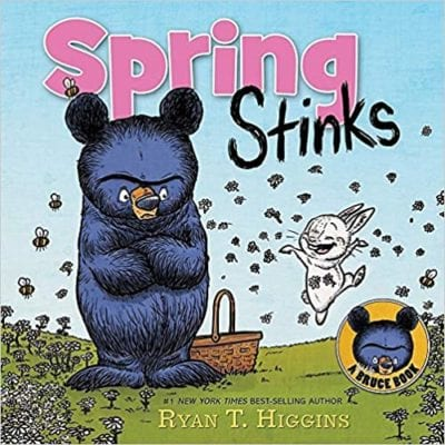 Book cover for Spring Stinks