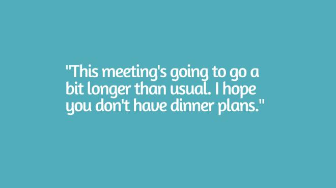 respectful school staff meetings