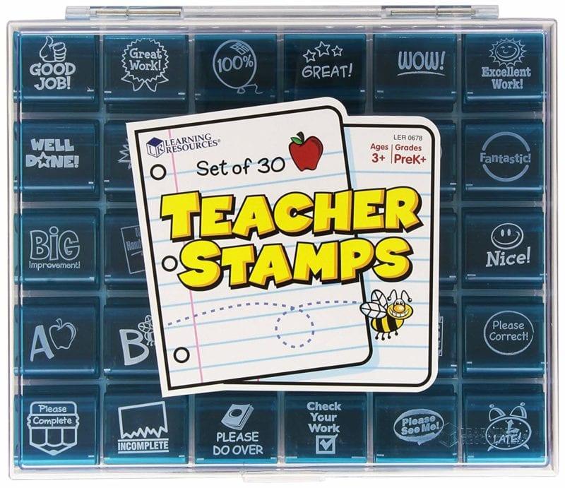 25 Teacher Stamps