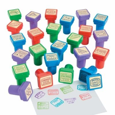 Social studies stamps