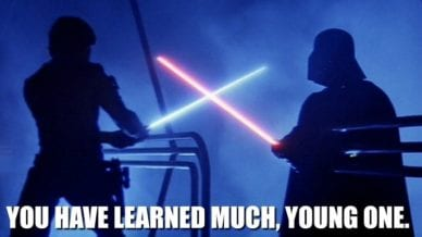 How Teaching Is Like Star Wars