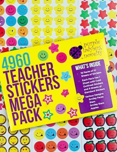 4960 Teacher Stickers Mega Pack.