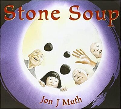 Book cover for Stone Soup as an example of books about teamwork for kids