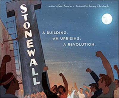 Stone Wall: A Building. An Uprising. A Revolution book cover example of activism books for the classroom