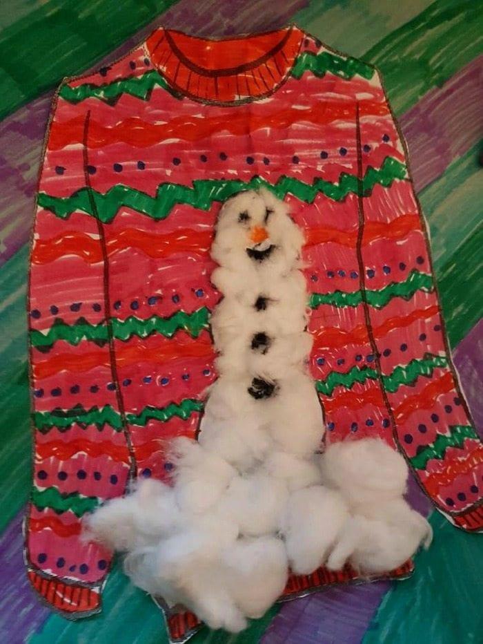 student_art_snowman