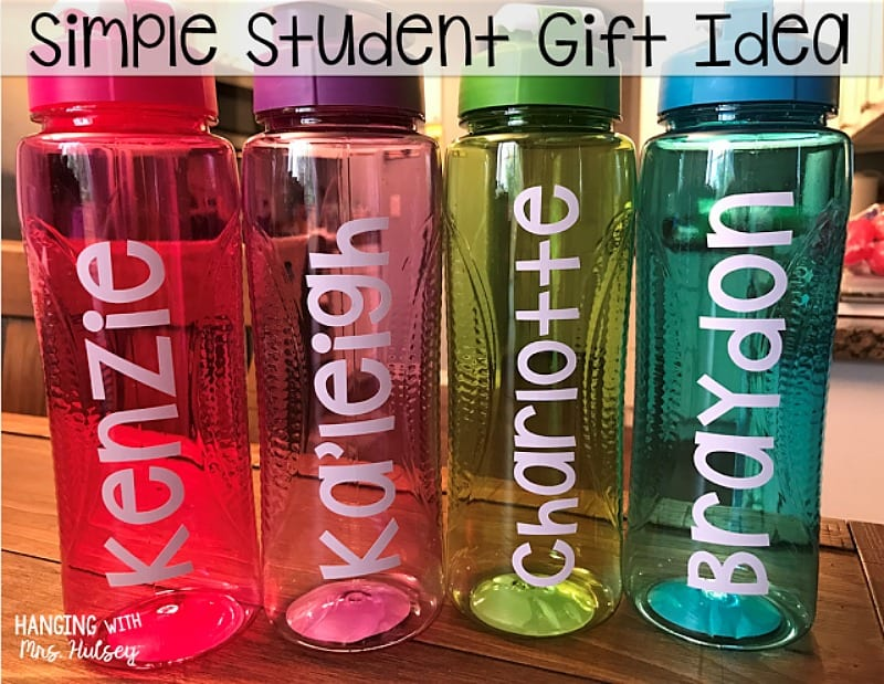 this is a really special diy gift you can do with 1 water bottles and a little creative customization look for bottles online in bulk or at your dollar