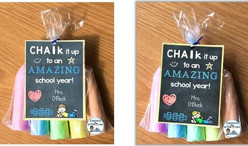 DIY for a dollar: chalk