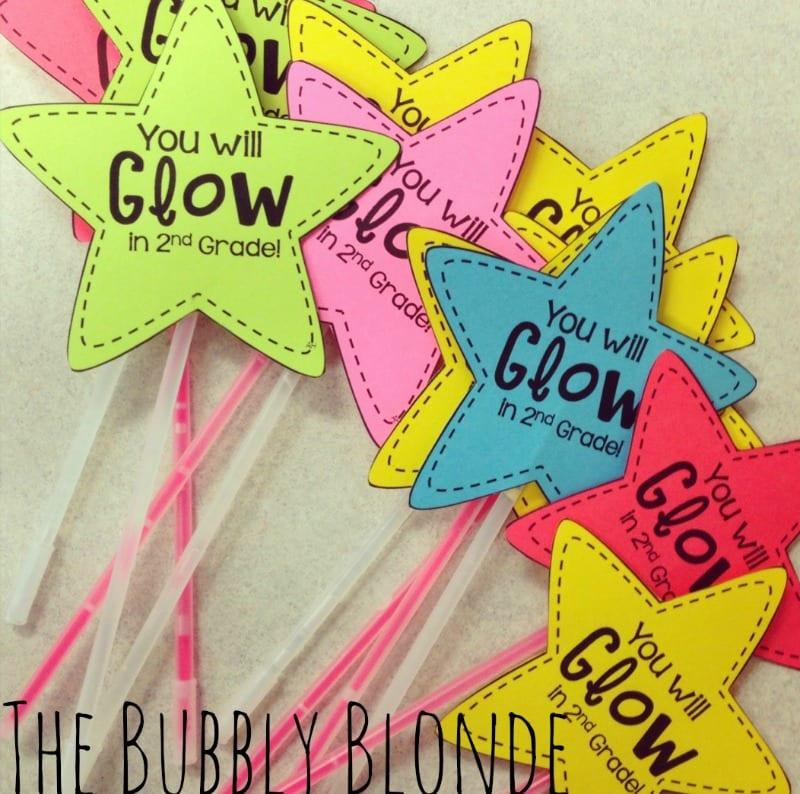 You will glow gift with glow sticks