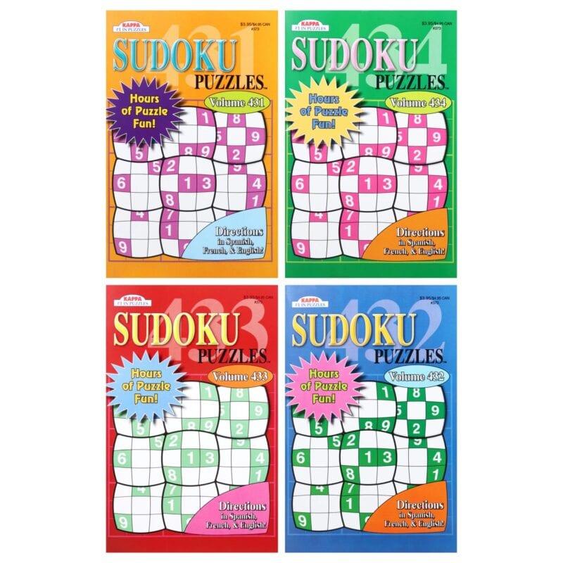Sudoku covers
