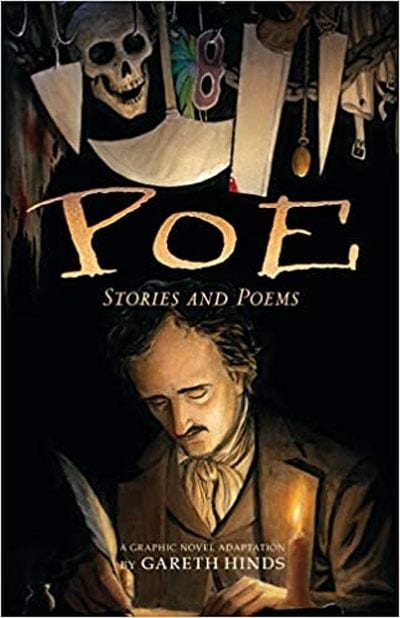 Poe: Stories and Poems book cover