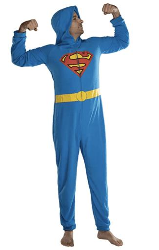 Superman onesie pajamas