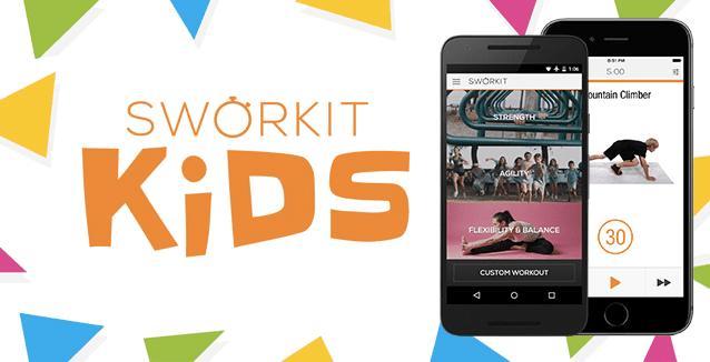 Sworkit Kids App