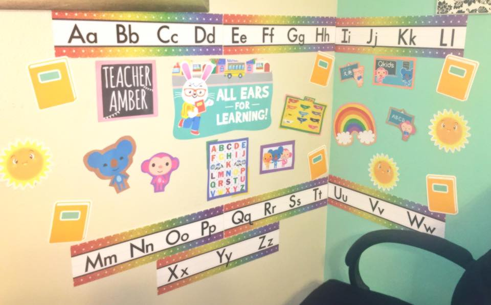 Classroom of QKids Online teacher