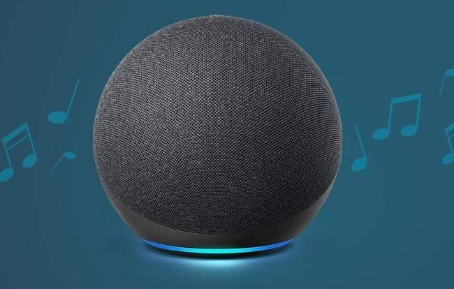 Black Amazon Echo 4th Generation