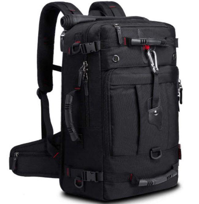 Convertible black duffle bag backpack (Best Teacher Backpacks)