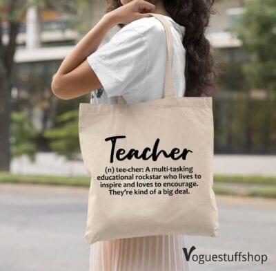Teacher definition bag
