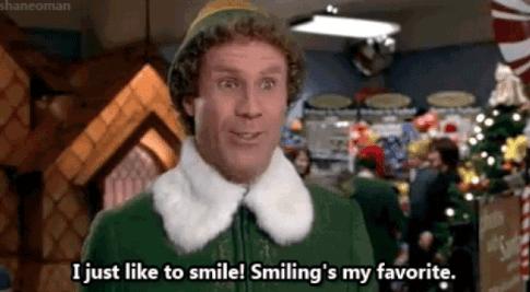 ELF Meme Teacher Smiling