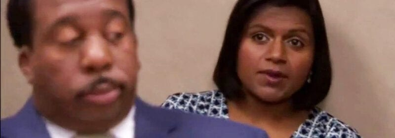 """Mindy Kaling in The Office saying """"Yeah, I have a lot of questions"""""""