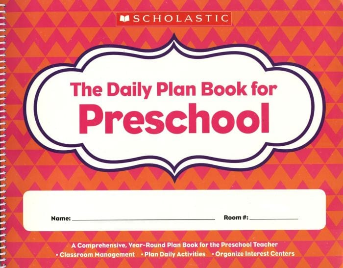The Daily Plan Book for Preschool cover (Teacher Planners)