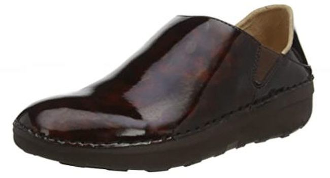 FitFlops brown slip on shoes